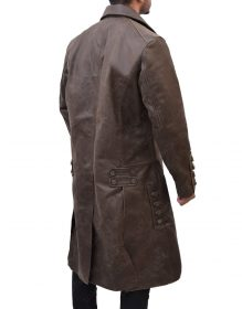 Jamie Frasers Leather Coat From Outlander By Sam Heughan