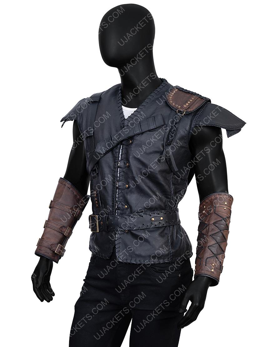The Huntsman Winter's HemsworthEric Leather Vest