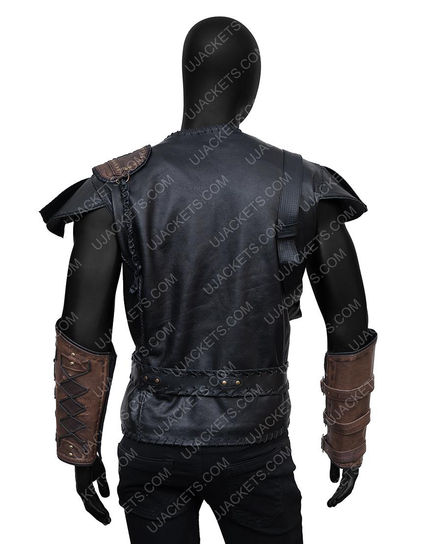 The Huntsman Winter's WarChris Hemsworth Leather Vest