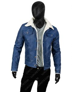 Tommy Jarvis The Game Friday The 13th Blue Jeans Jacket