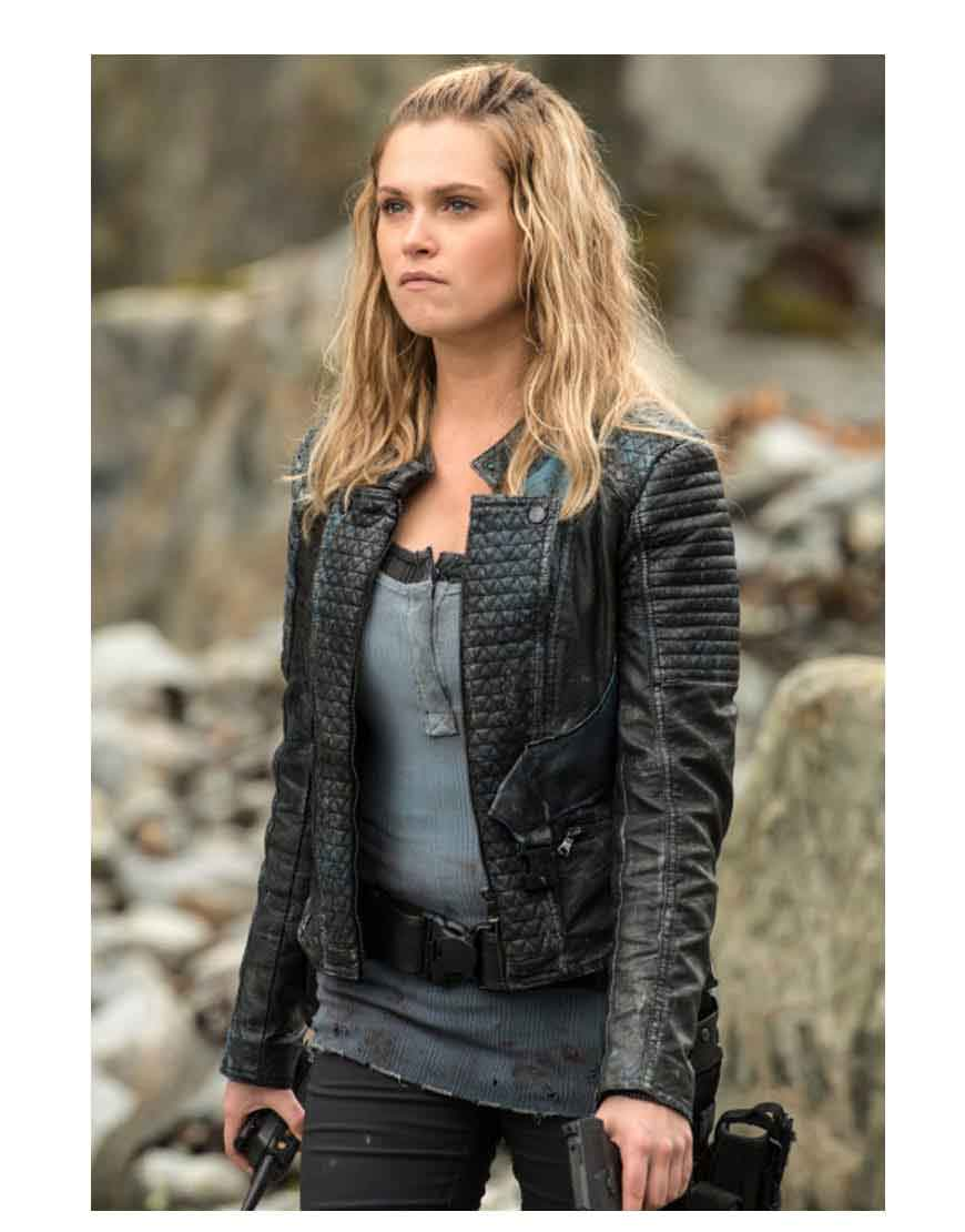 the 100 clarke griffin jacket