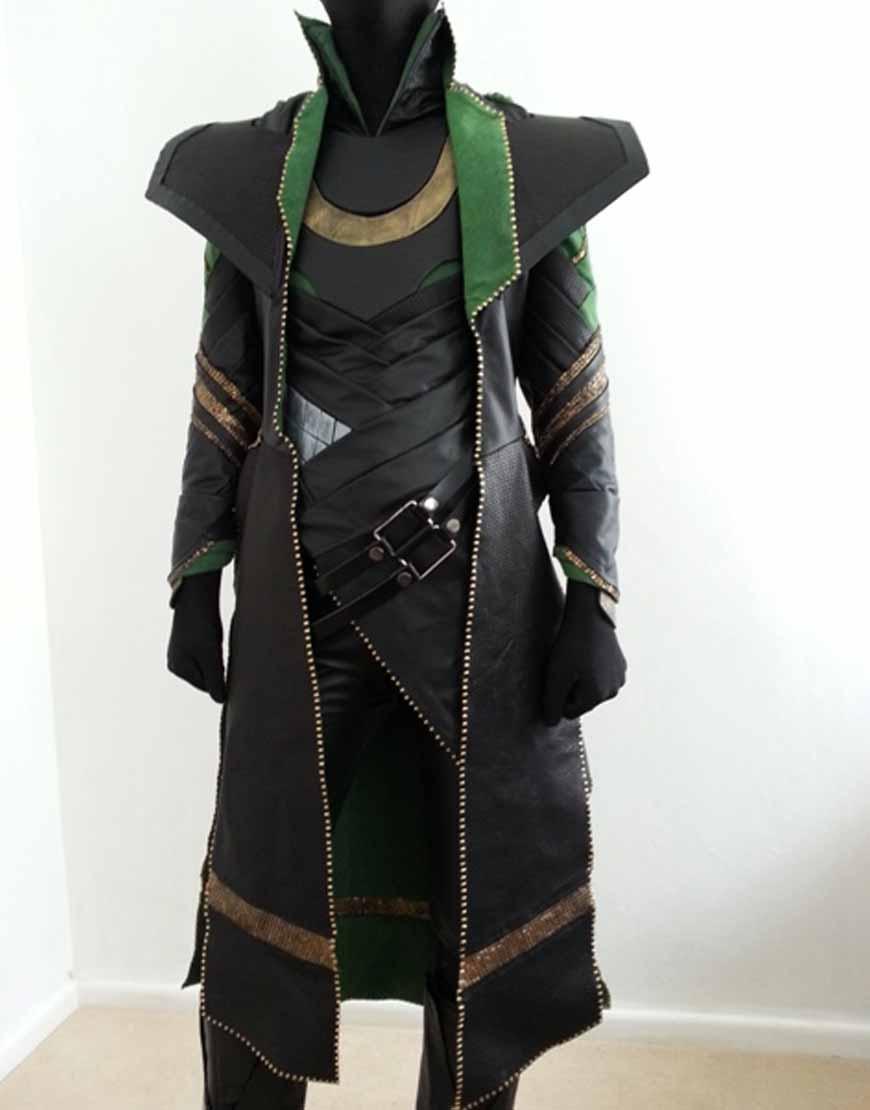 loki long costume