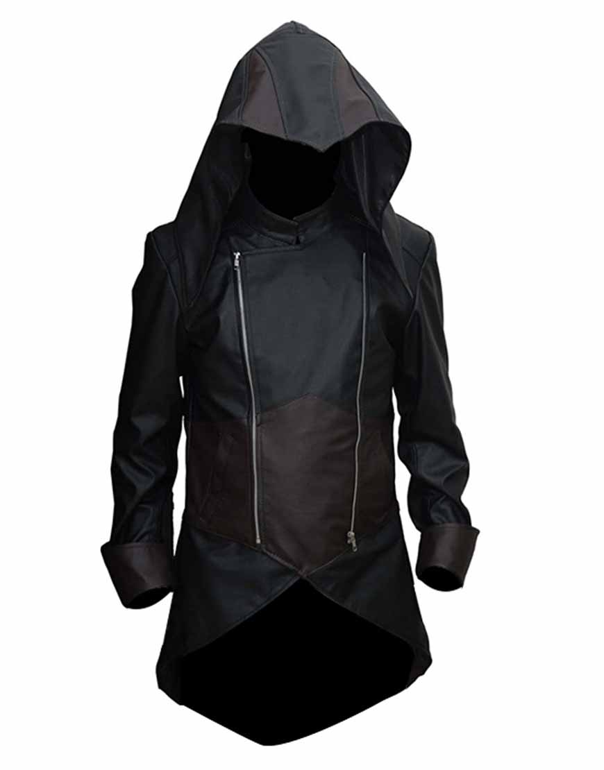 Assassins Creed Unity Jacket Arno Hoodie Coat Ujackets