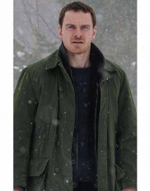 the snowman michael fassbender coat