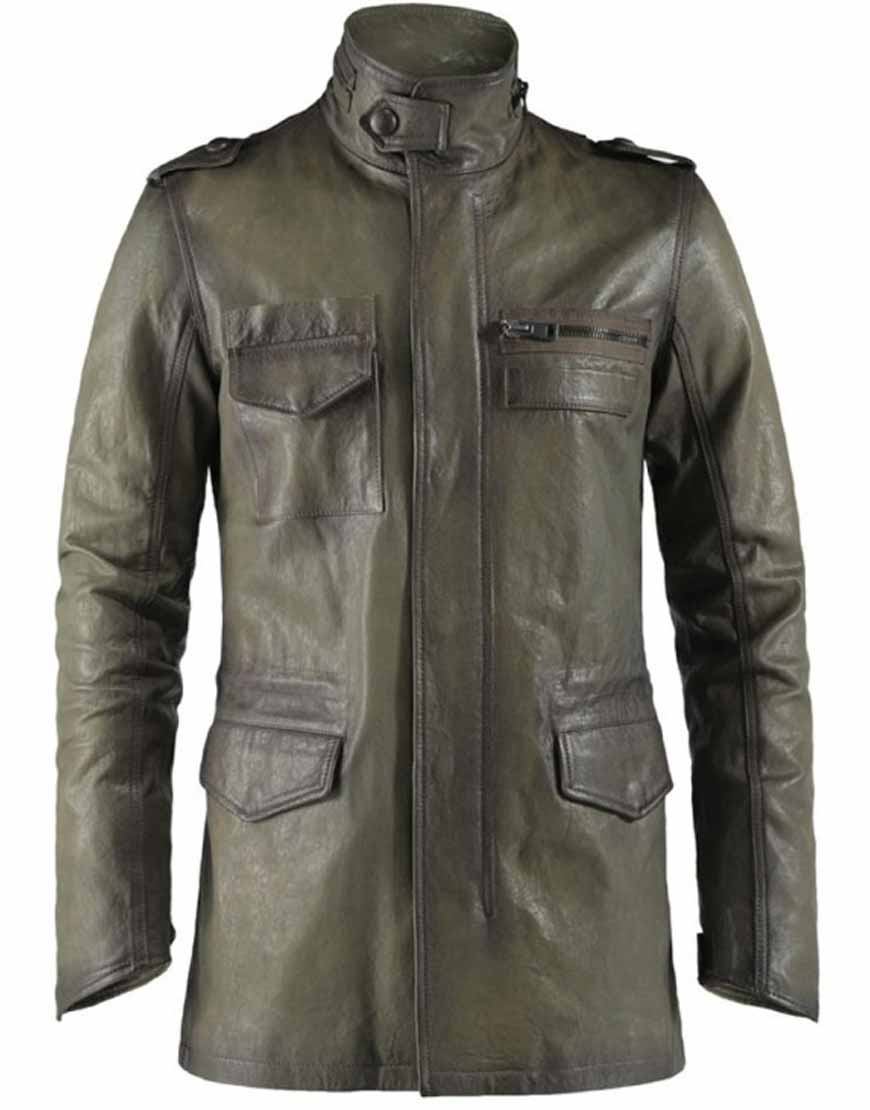 derek reese leather jacket