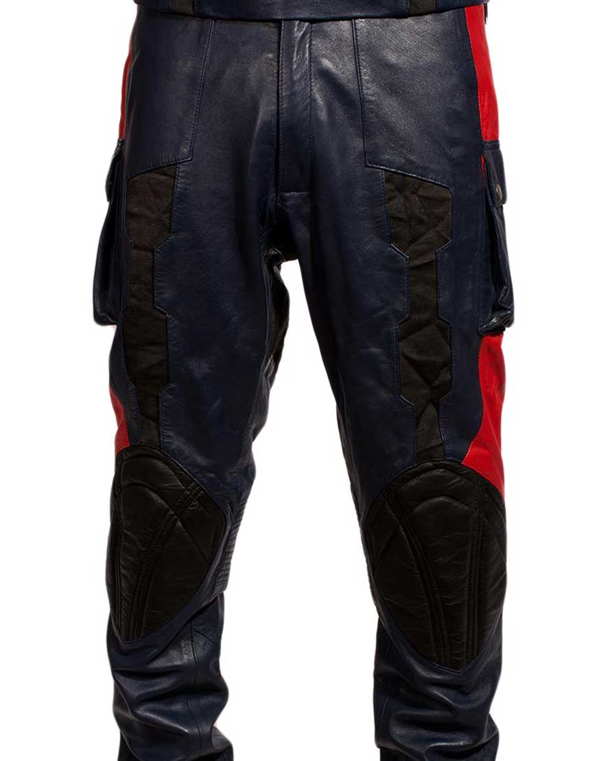 captain america the winter soldier leather pants
