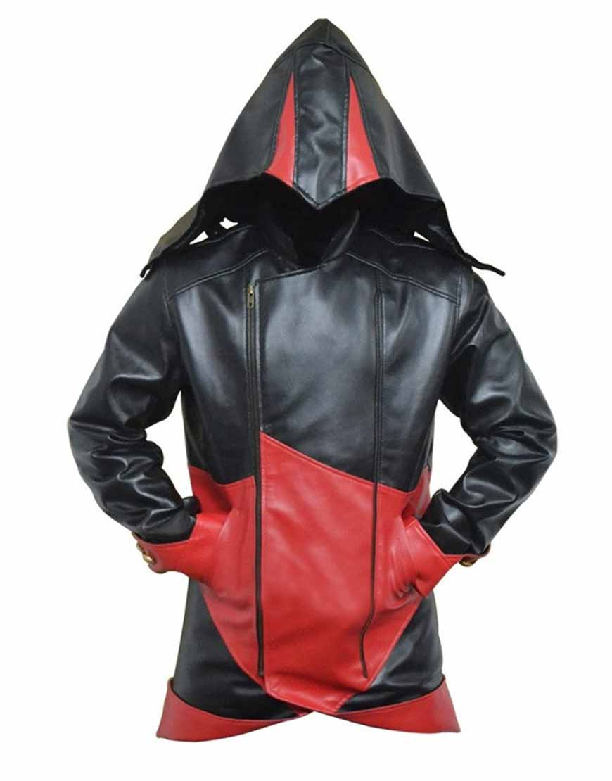 Black Assassins Creed Hoodie Connor Kenway Jacket