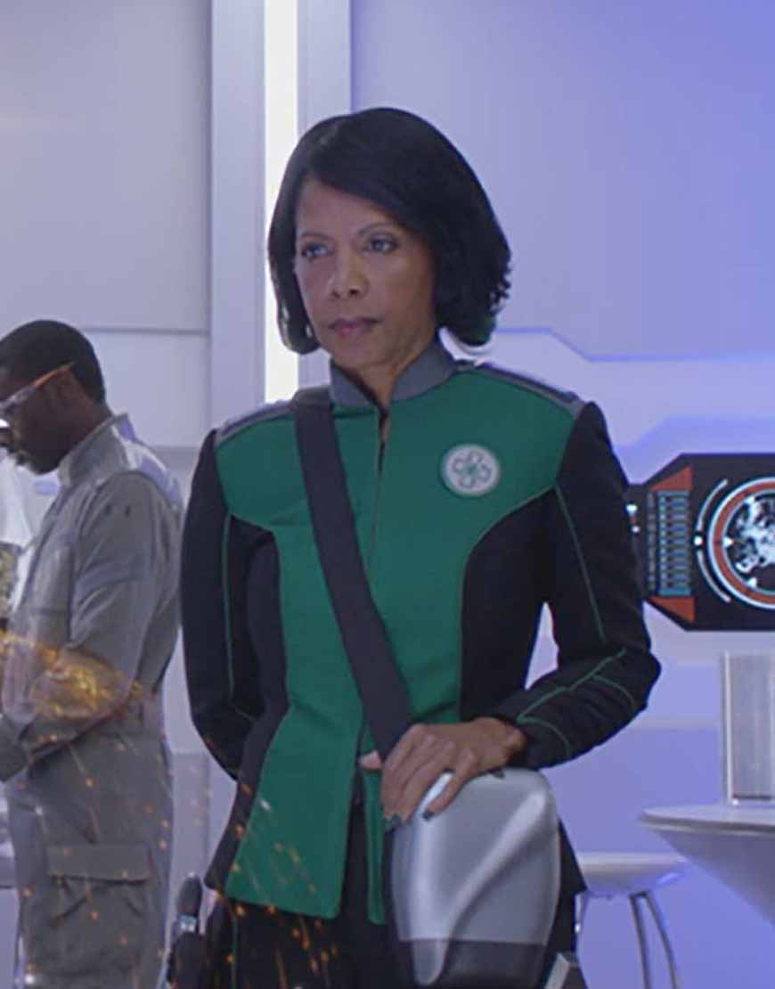 the orville dr claire finn jacket