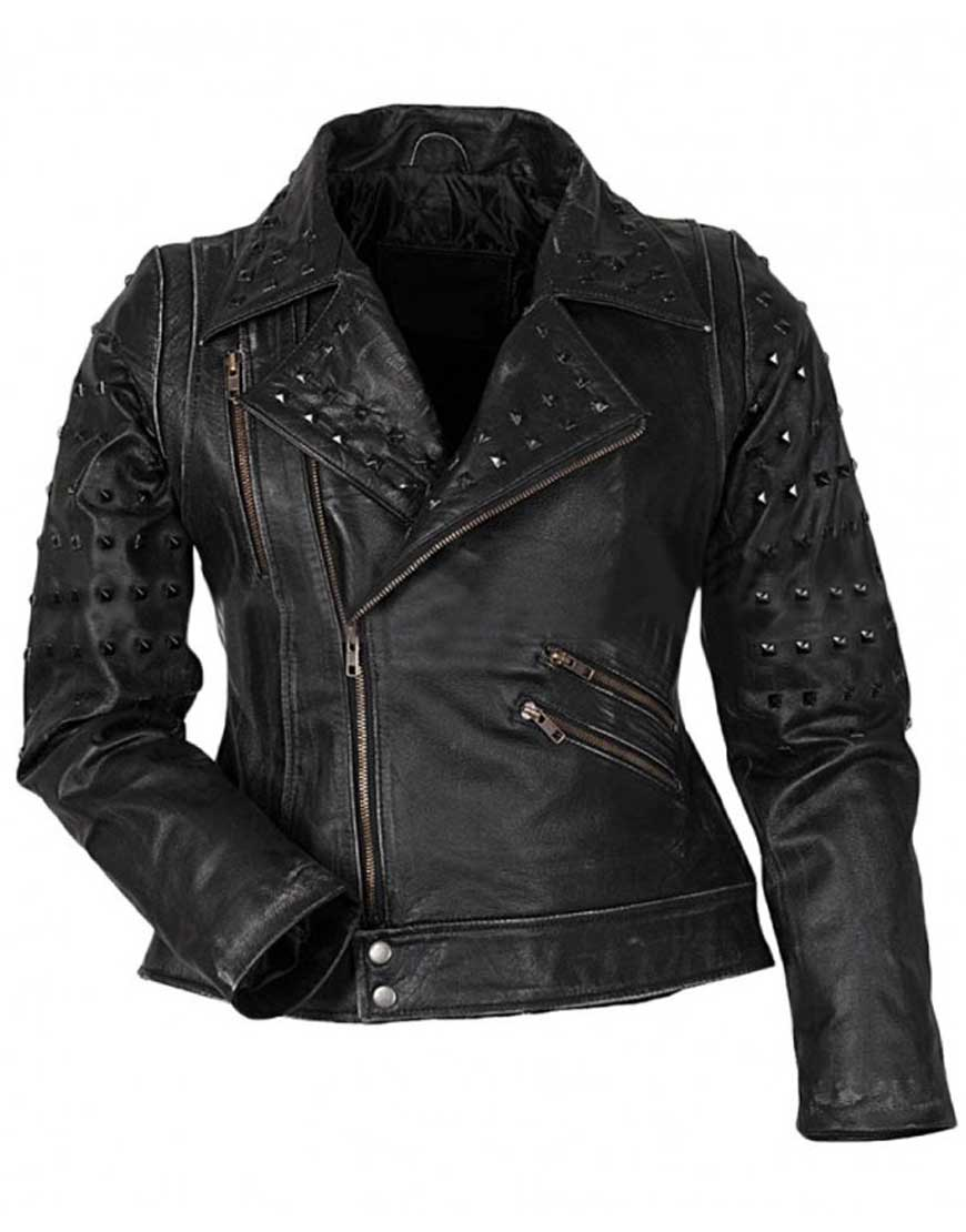 raven leather jacket