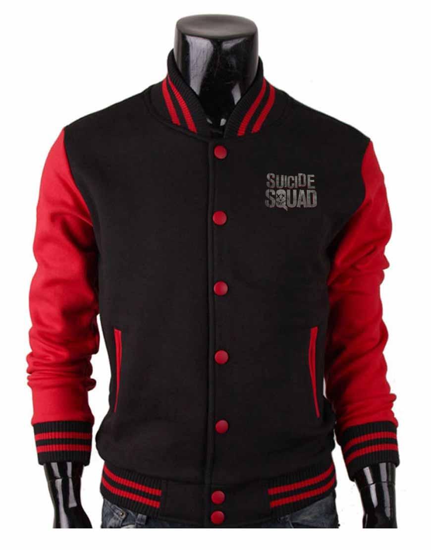 suicide squad varsity jacket