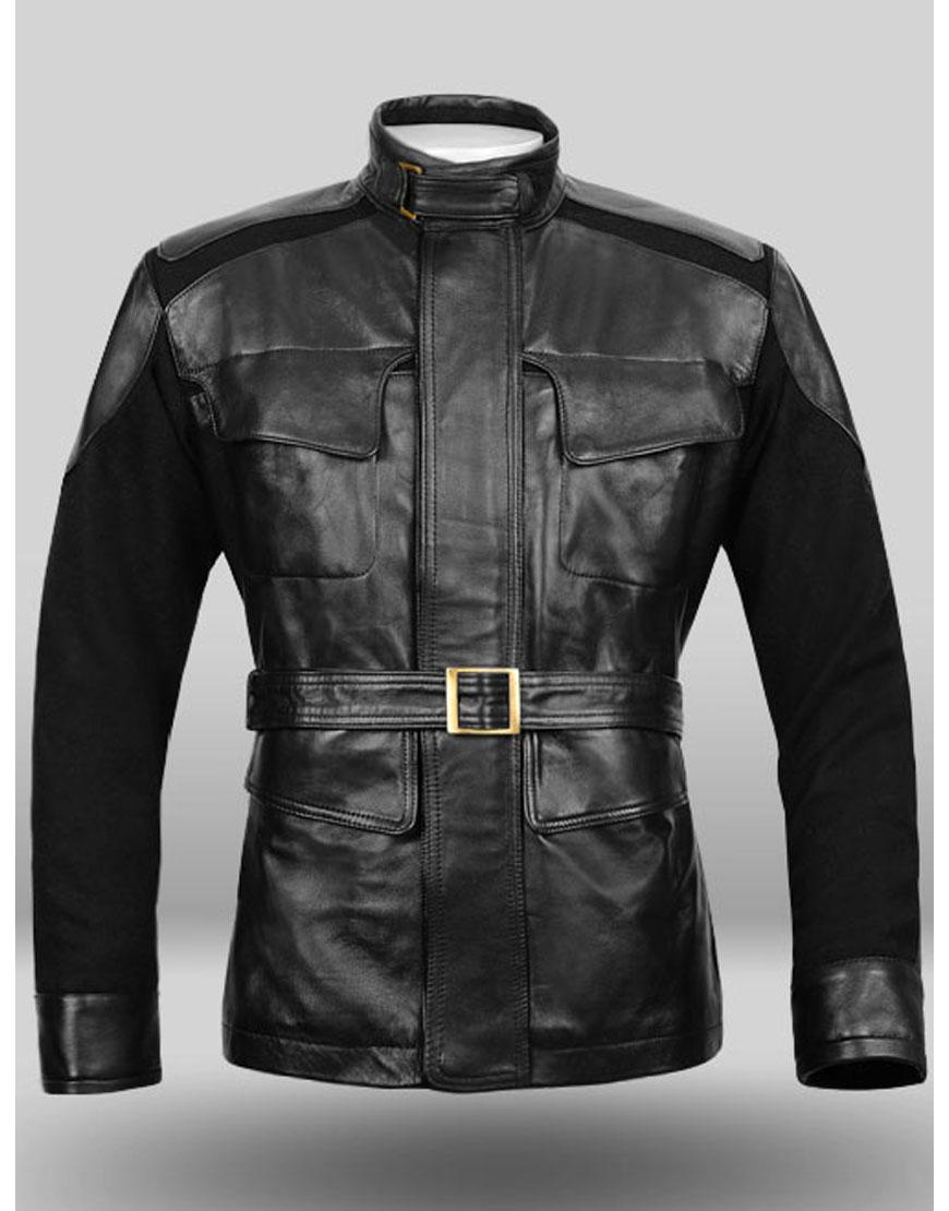 nick fury leather jacket