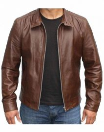x men first class leather jacket