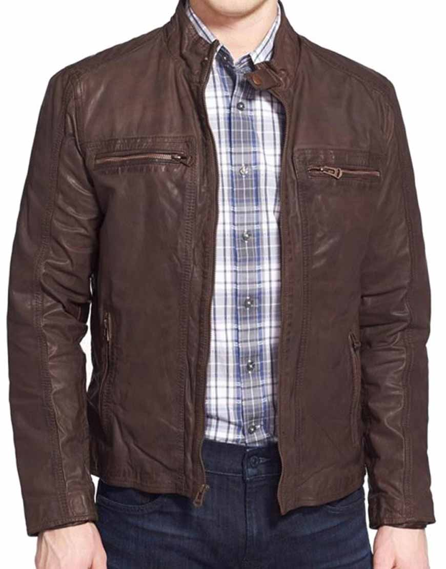 civil war steve rogers leather jacket