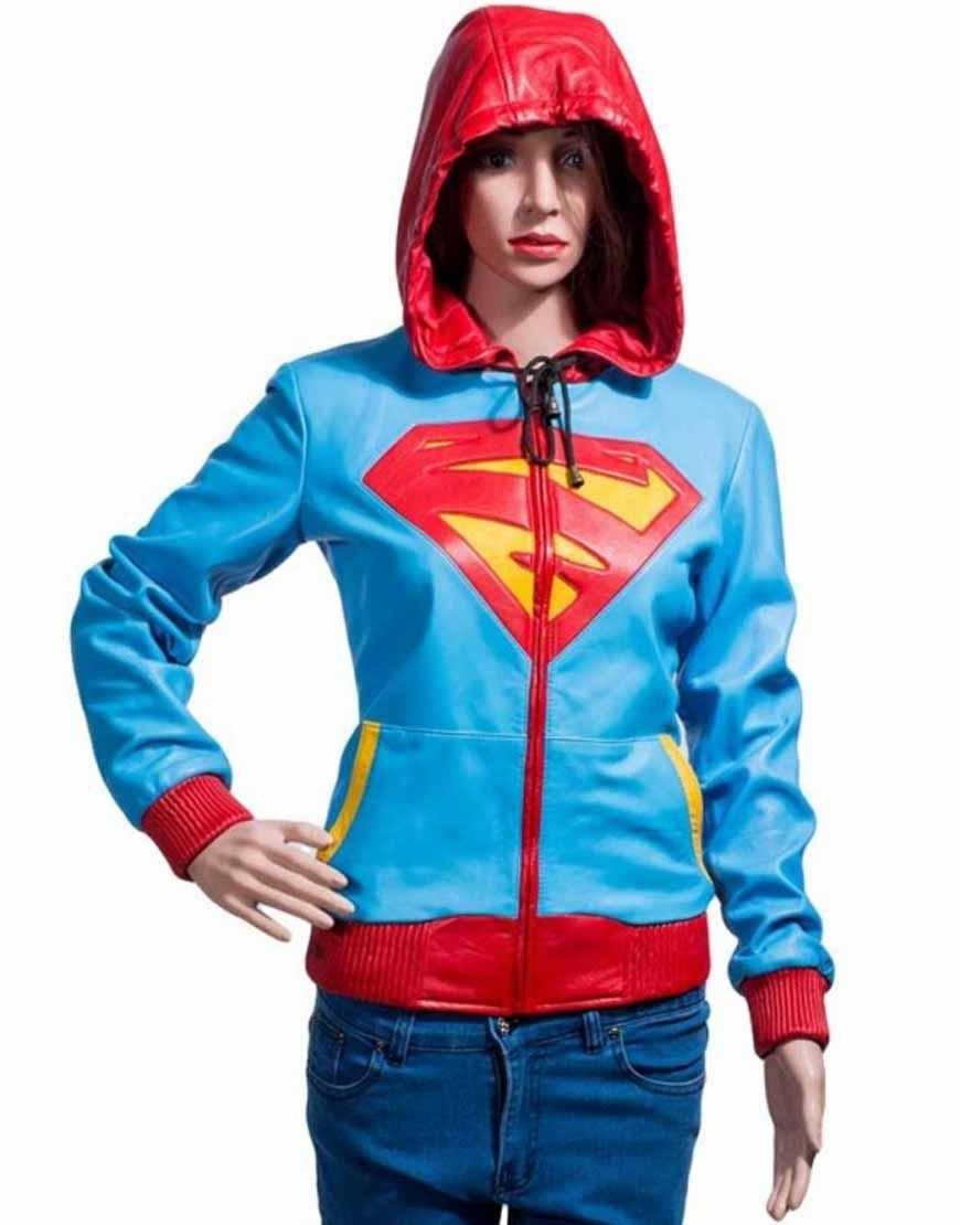supergirl hoodie