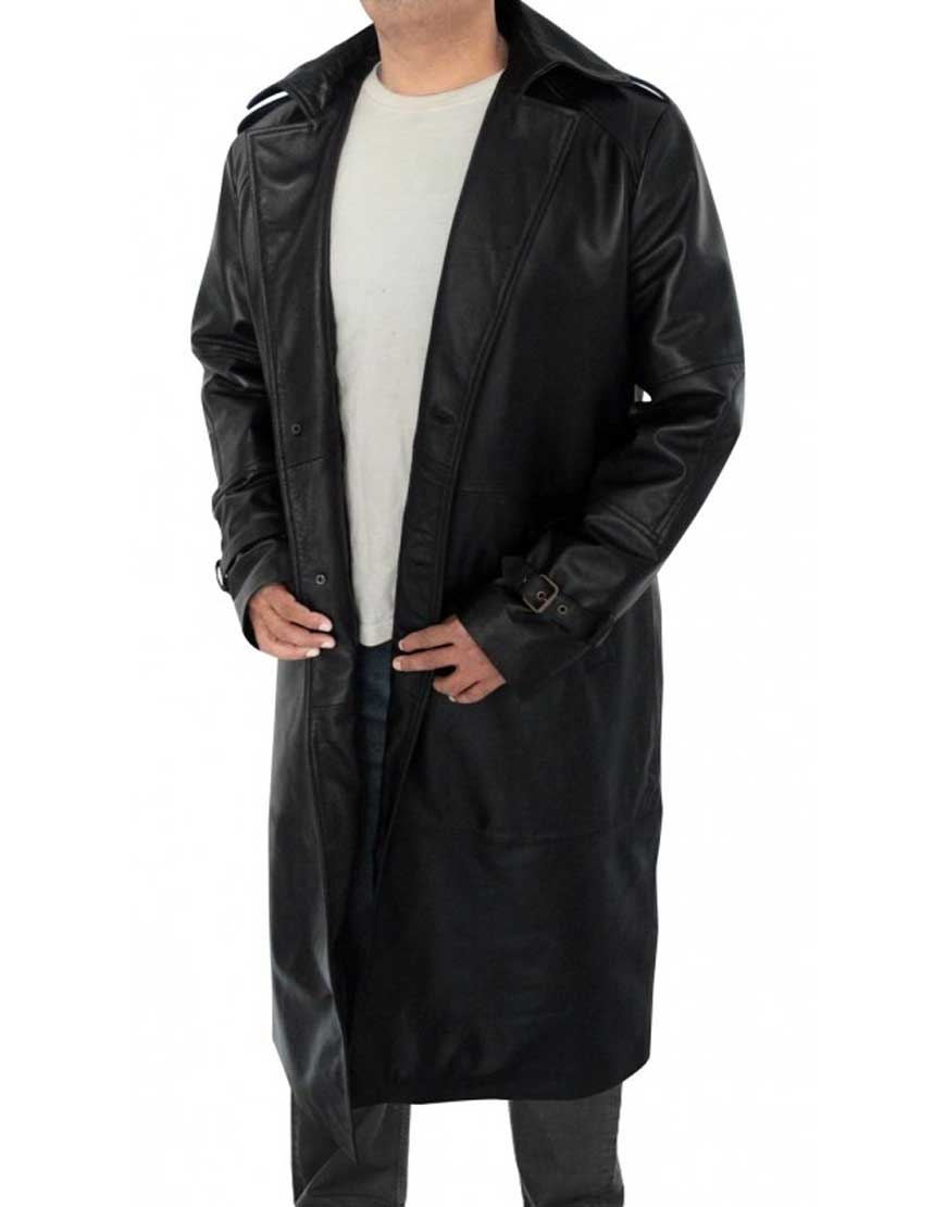 the avengers nick fury trench coat