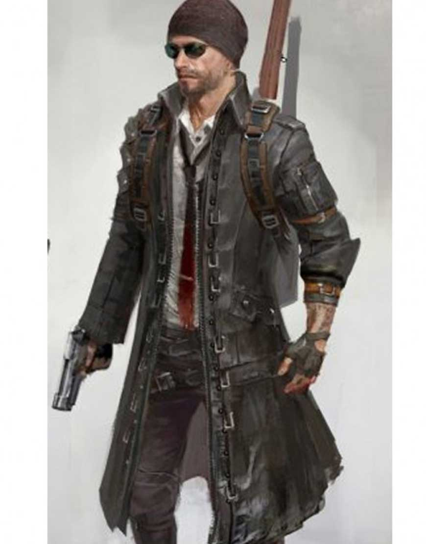 playerunknown's trench coat