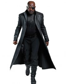 nick fury the avengers trench coat