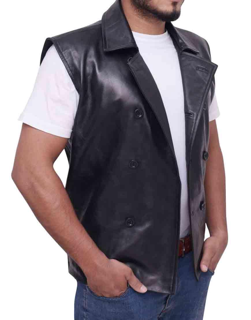 spider man noir vest