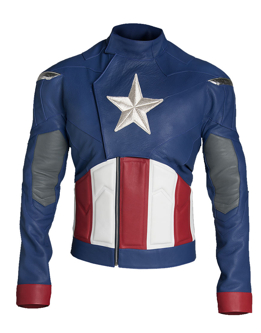 the avengers captain america jacket