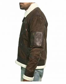 power 50 cent brown jacket
