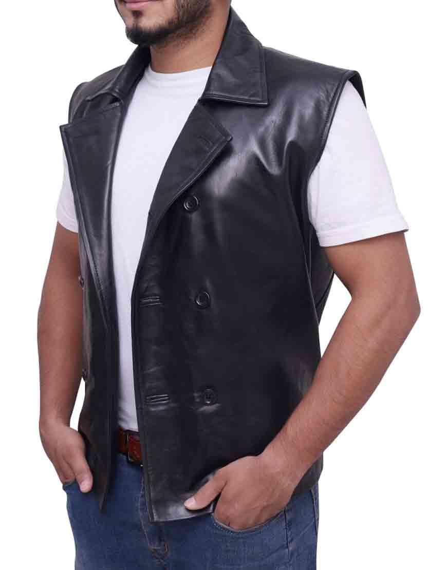 spiderman noir vest