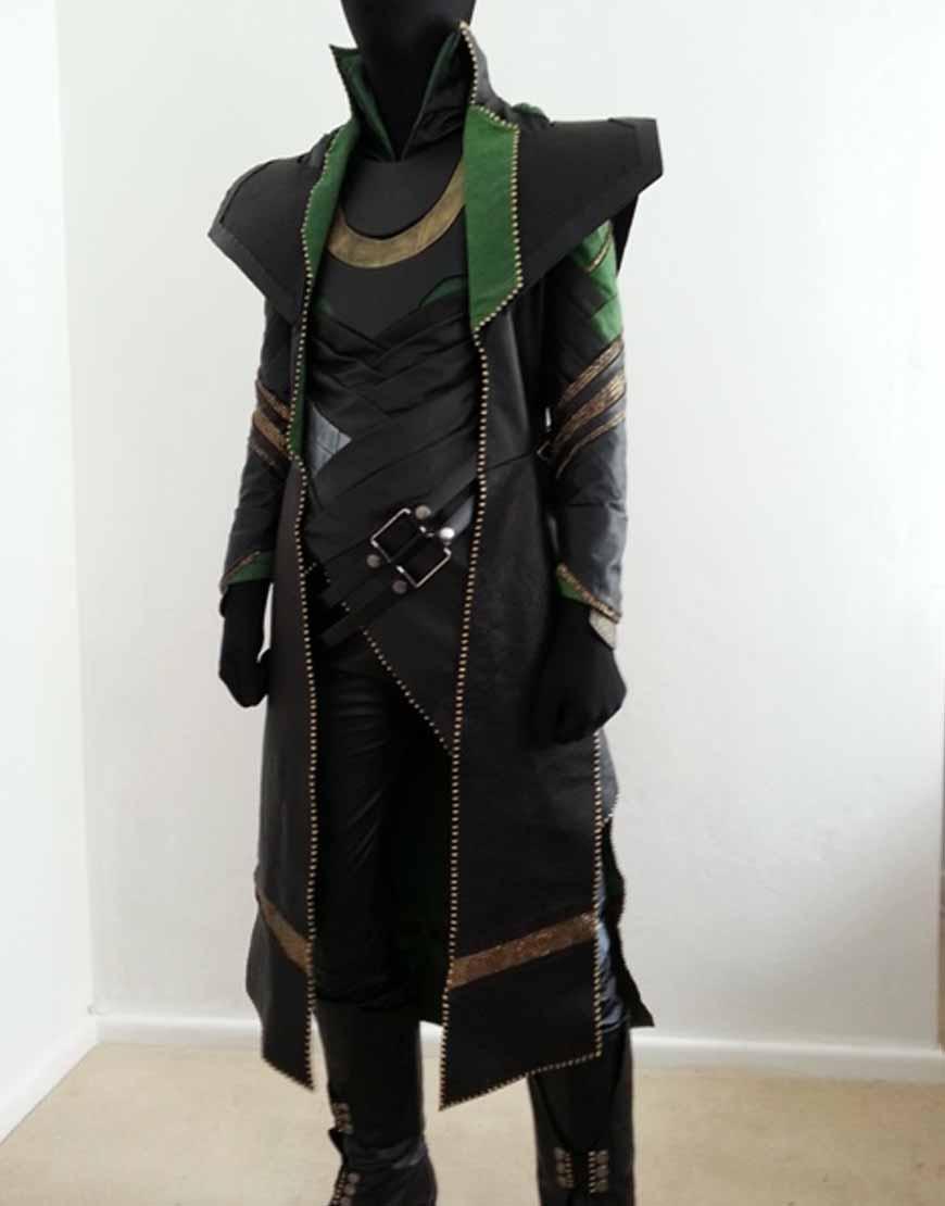 the avengers loki coat