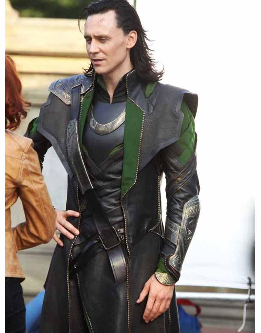 Tom Hiddleston Loki Coat