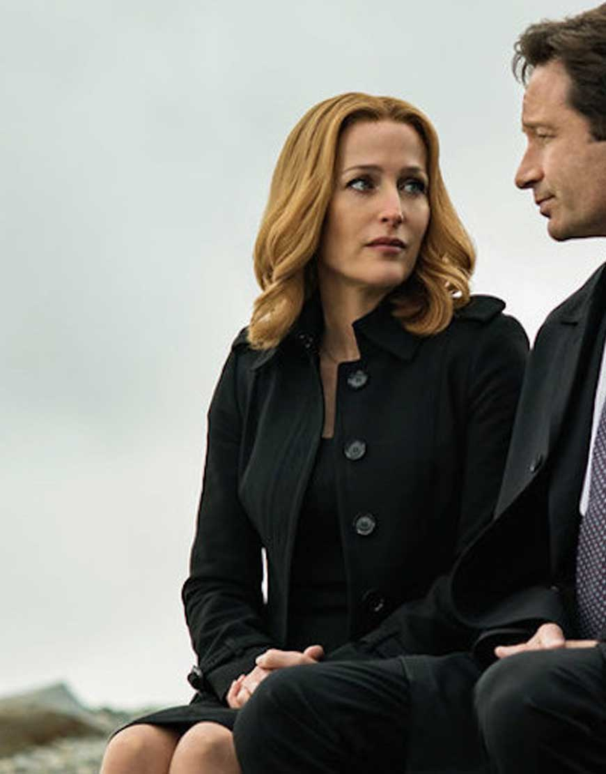 x files dana scully coat