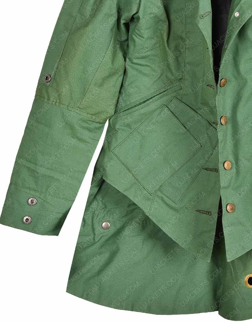 Wanda Maximoff Civil WarLeather Jacket