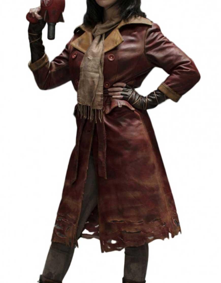 fallout 4 piper coat, piper coat, piper trench coat