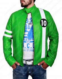 Alien Swarm Ben 10 Leather Jacket