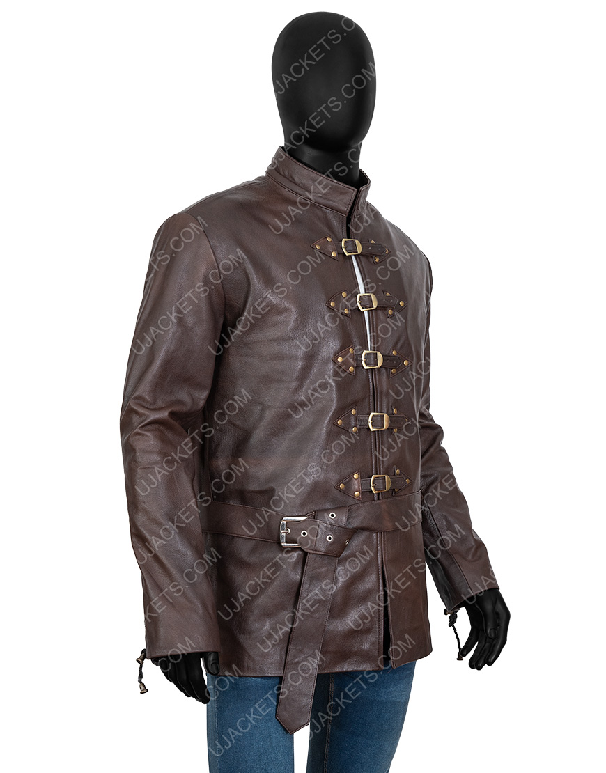 Game Of Thrones Leather Bronn Jacket
