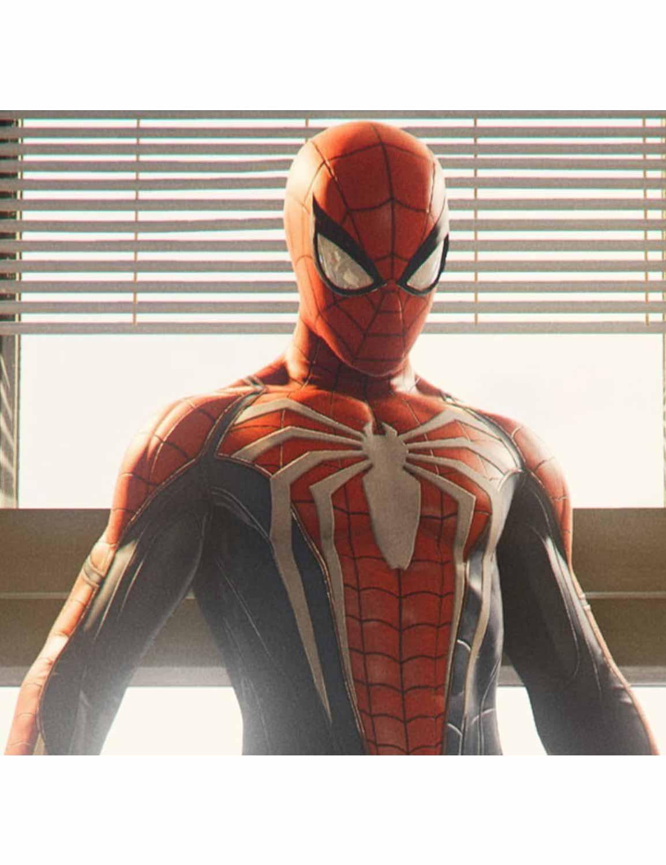 Spiderman PS4 costume
