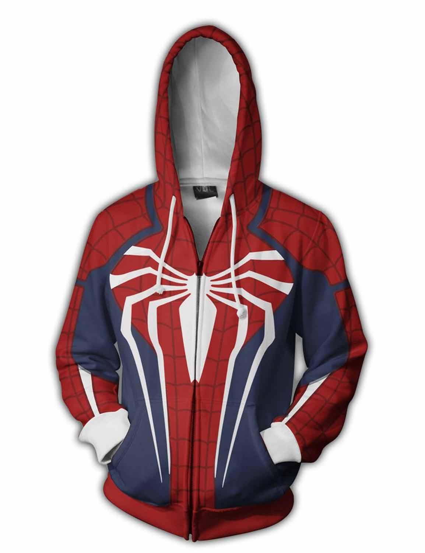 spiderman ps4 hoodie
