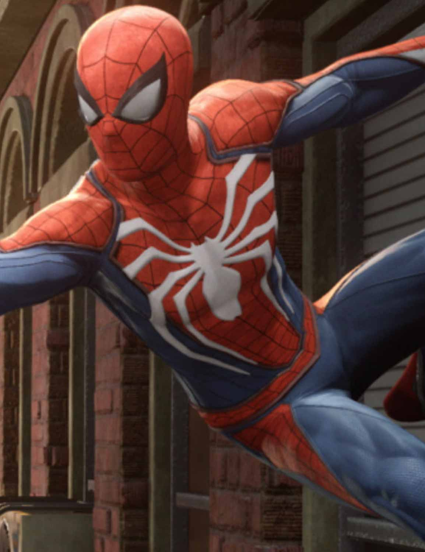 Spiderman PS4 jacket