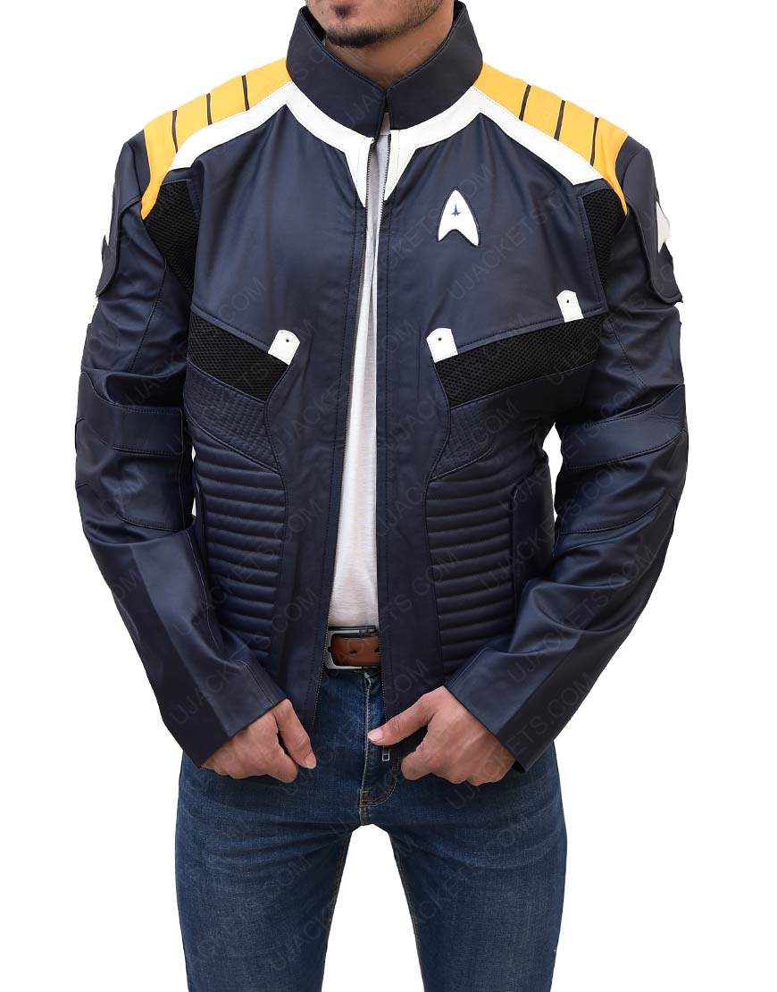 Star Trek Beyond Leather Jacket