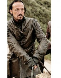 bronn leather jacket