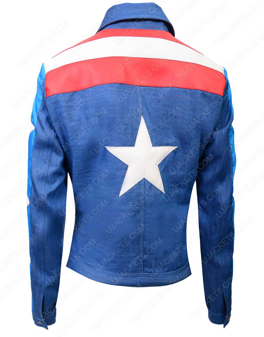 miss america blue jacket
