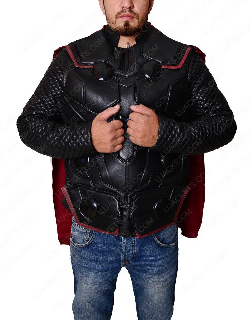infinity war thor vest