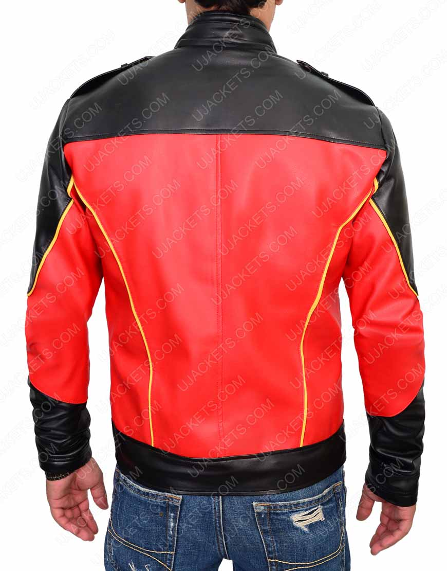 tim drake leather jacket