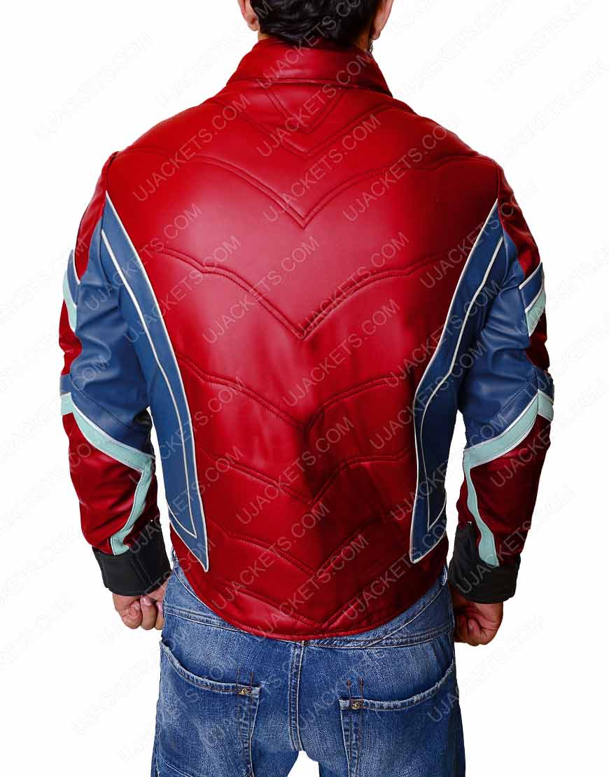 tom holland peter parker infinity war jacket