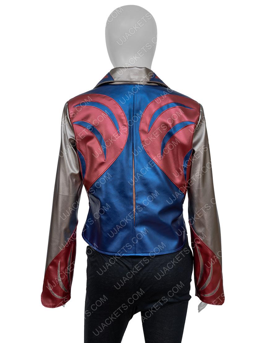 Britt Robertson Marlowe Girl Boss Leather Jacket
