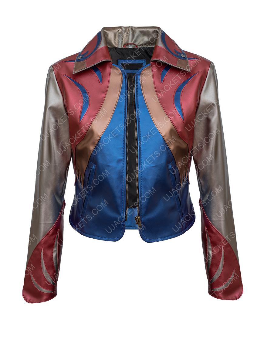 Britt Robertson Sophia Marlowe Girl Boss East WestLeather Jacket