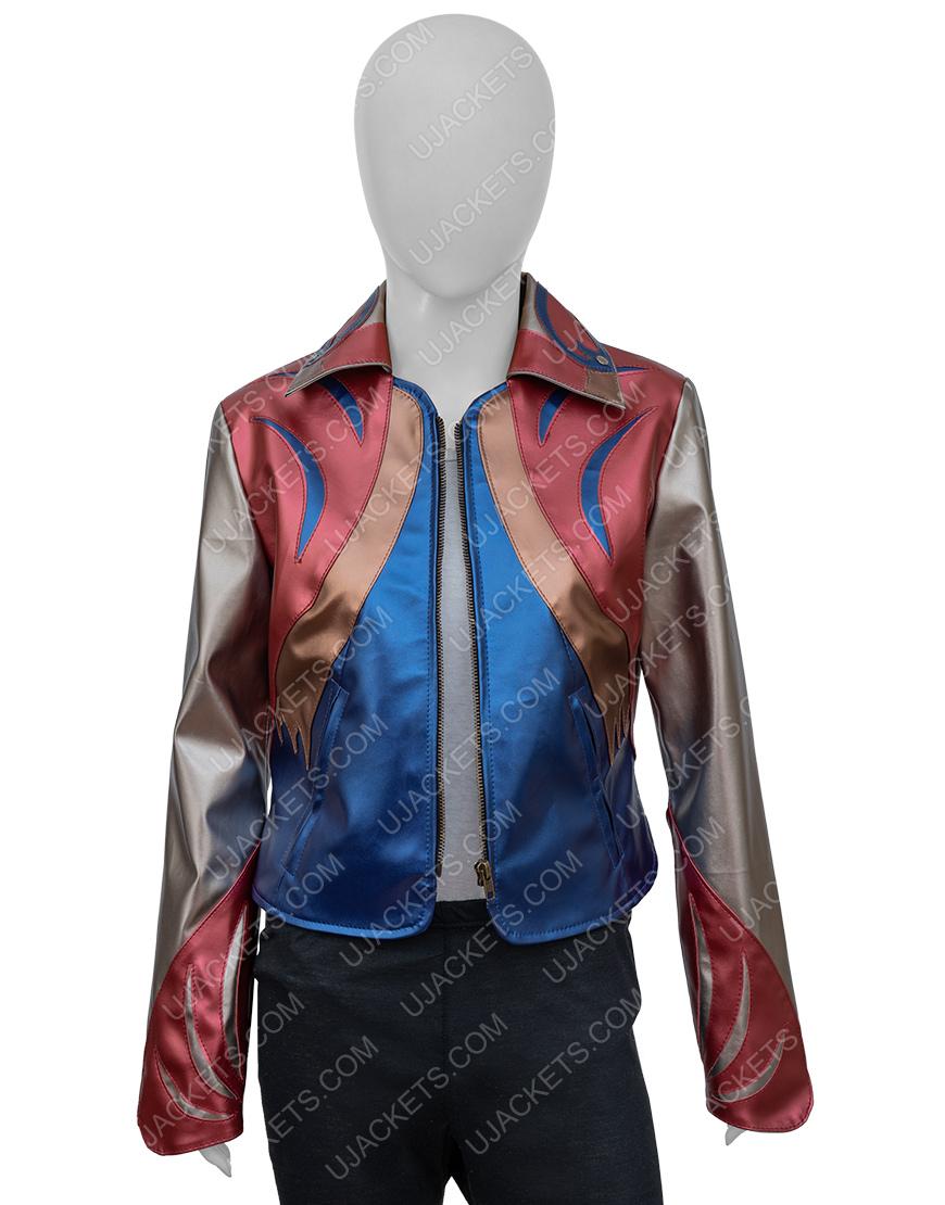 Britt Robertson Sophia Marlowe Girl Boss Leather Jacket