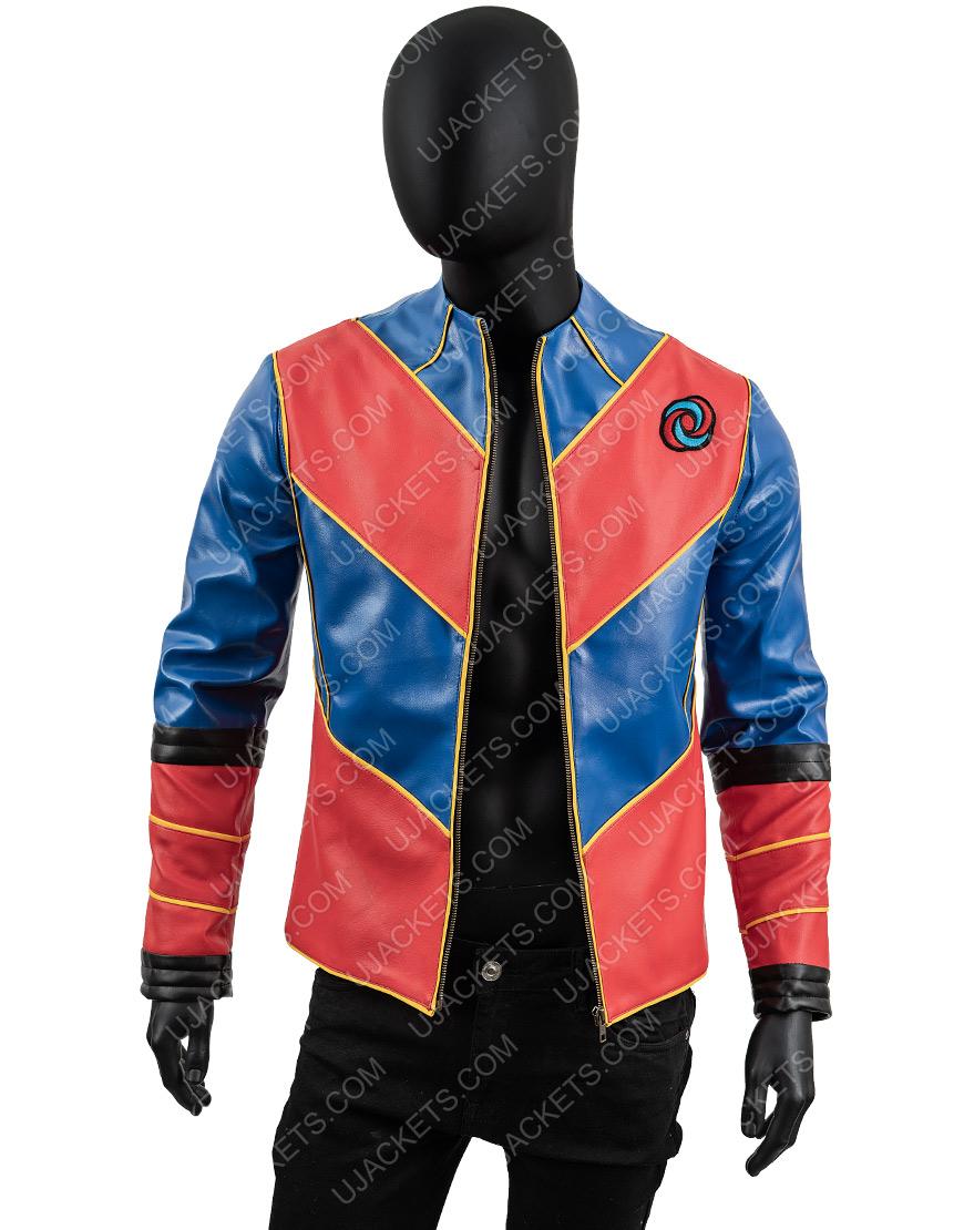 Cooper Barnes Captain Man Henry Danger Leather Jacket