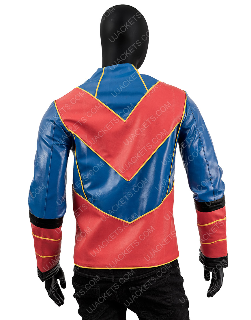 Cooper Barnes Captain Man Henry Leather Jacket