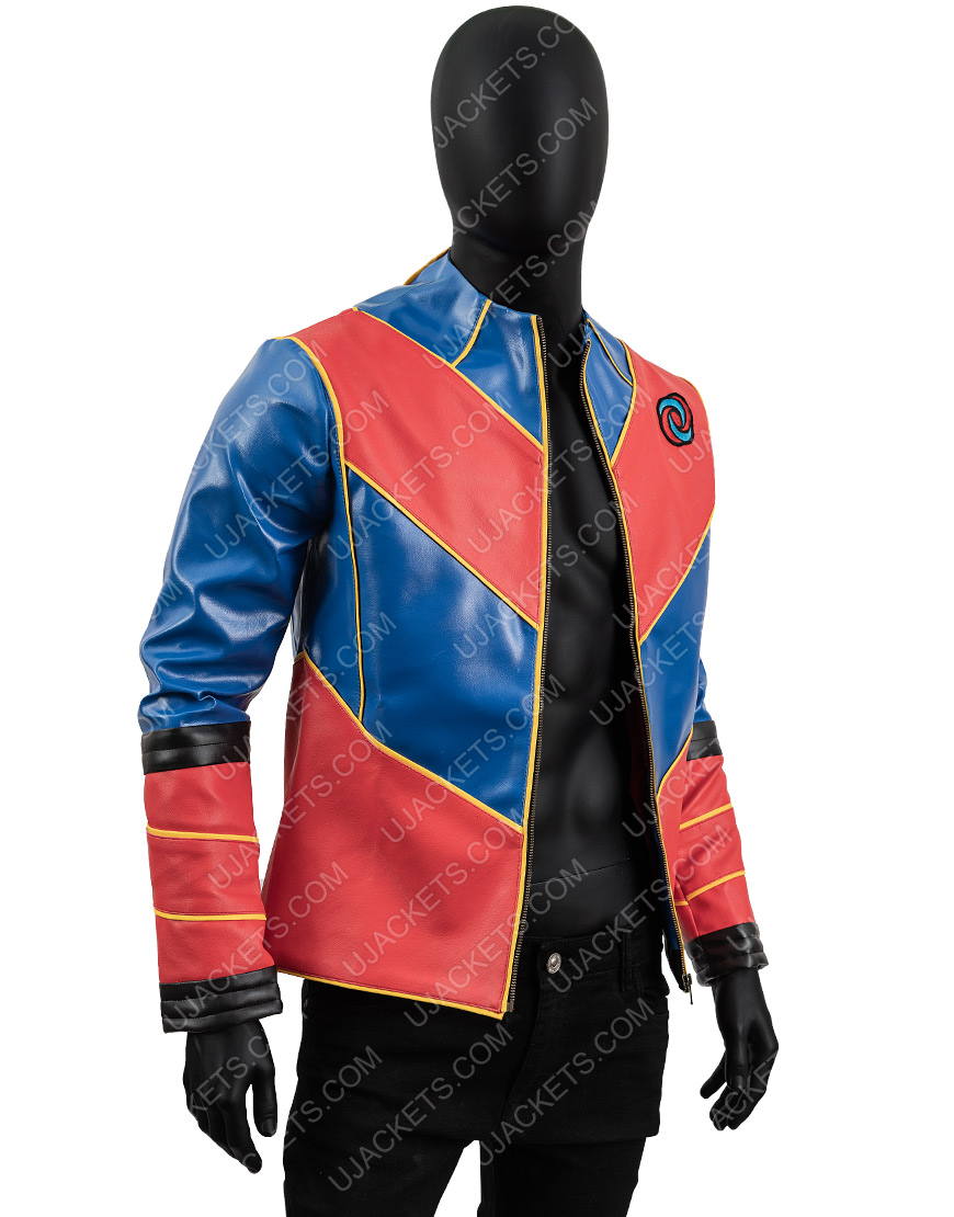 Cooper Barnes Man Henry Danger Leather Jacket