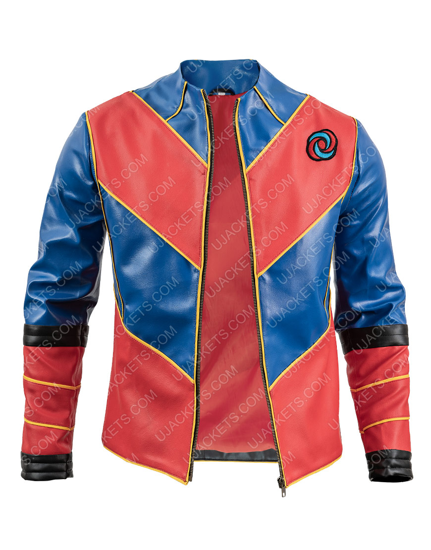 Cooper Captain Man Henry Danger Leather Jacket