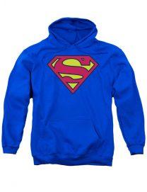Superman Logo Blue Hoodie