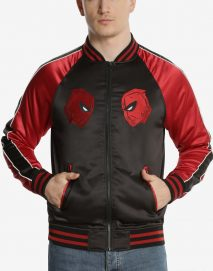 marvel deadpool souvenir jacket